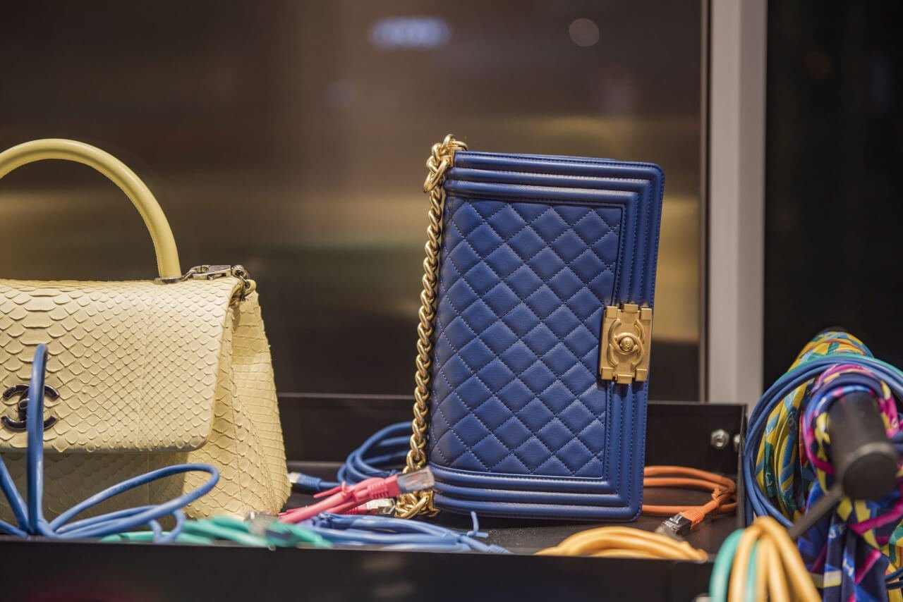 Borse Chanel originali brand new in un negozio a Parigi