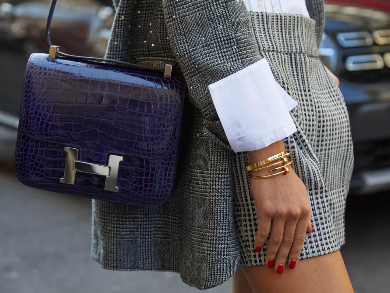 Come riconoscere una borsa Hermes autentica da un'imitazione