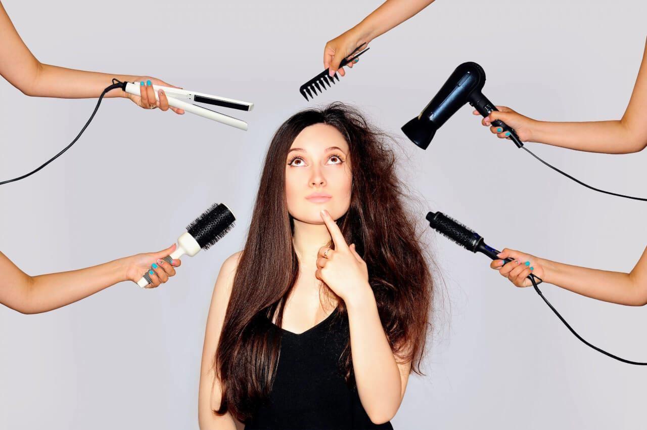 Il phon fa davvero male ai capelli