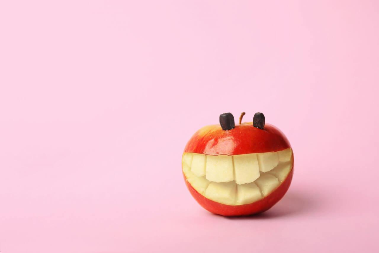 L'influenza del cibo sui denti