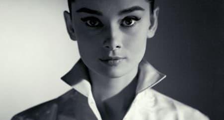 Sopracciglia famose Audrey Hepburn