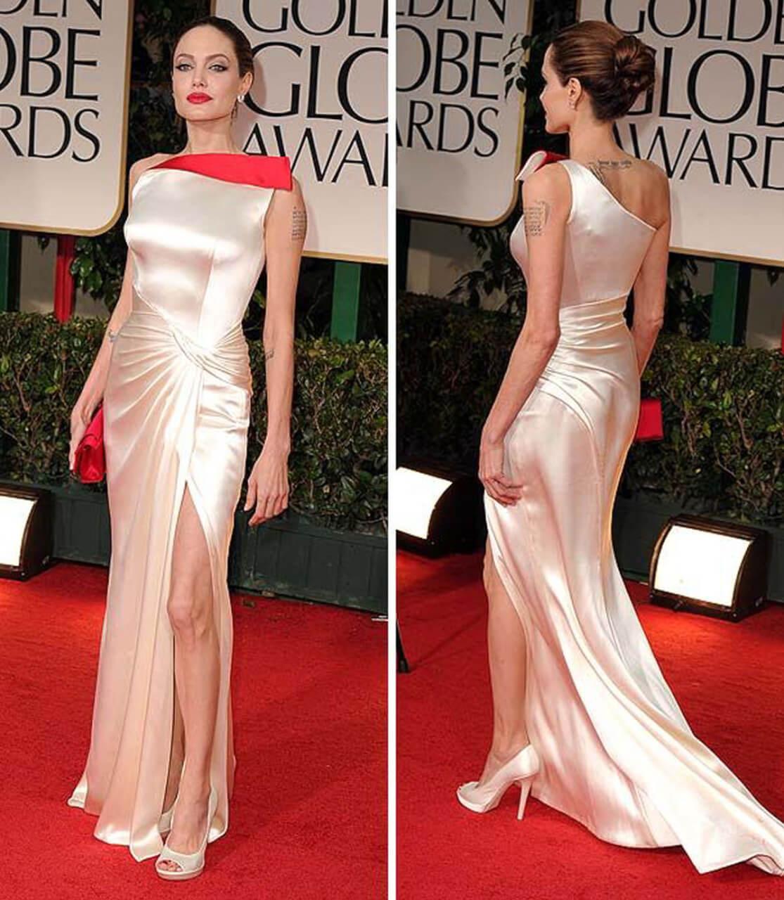 Angelina Jolie e l'Atelier Versace