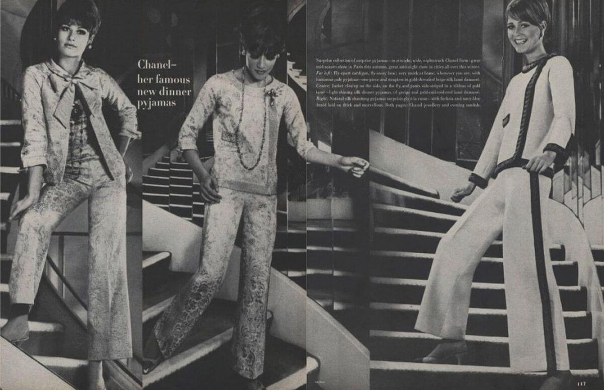 Il pigiama Chanel