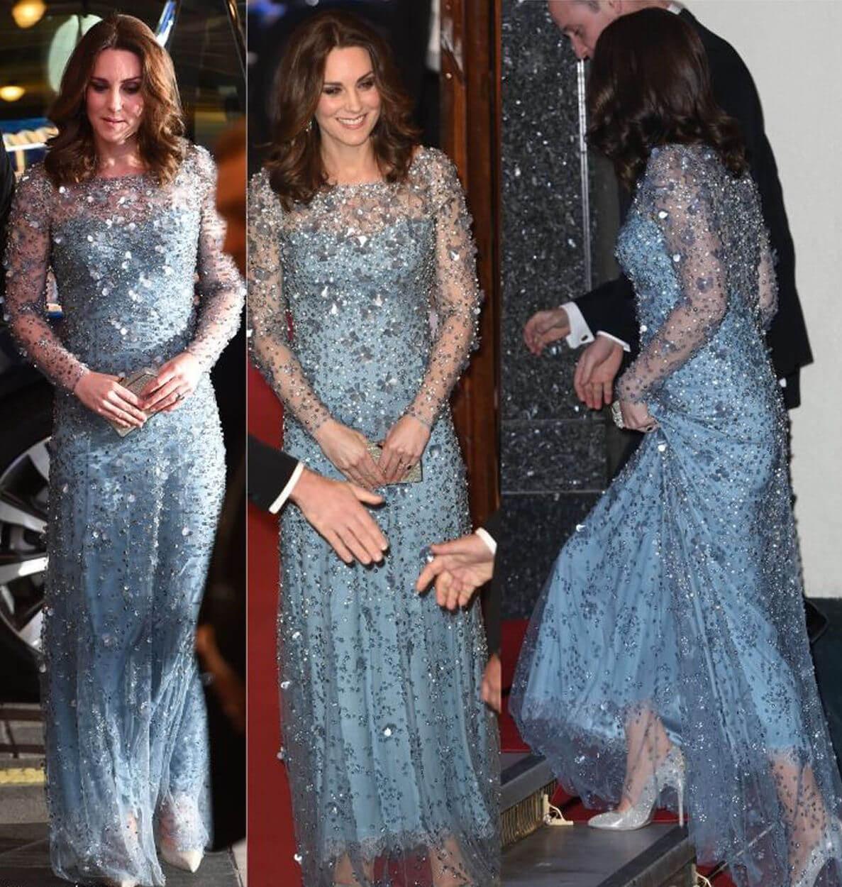 Un'altra futura regina Kate Middleton e l'azzurro 2