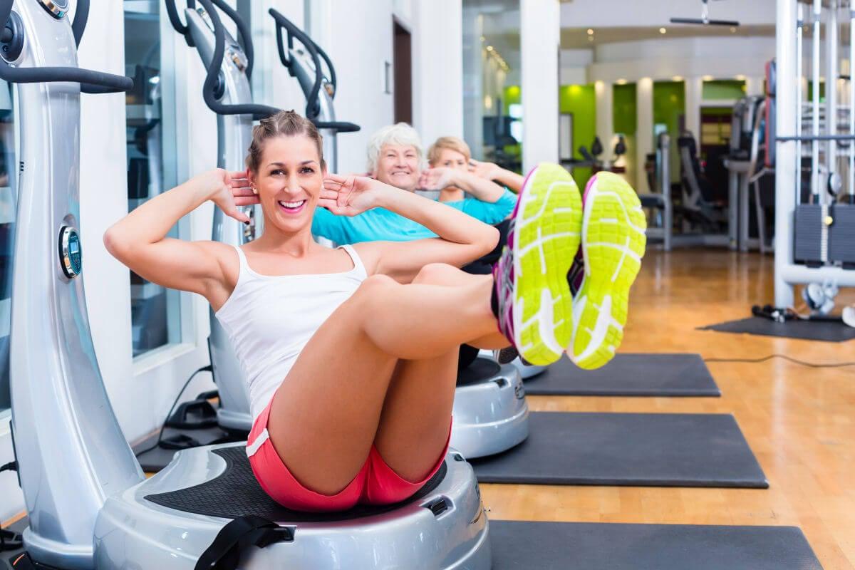 Come si usa la pedana vibrante per fare gli esercizi