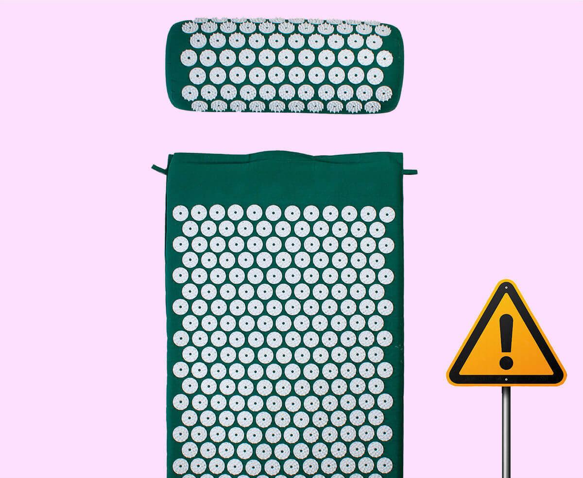I casi in cui non è consigliabile usare un tappetino per l'agopressione
